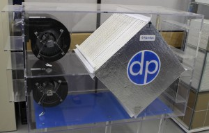 DPoint's air exchange membrane filter for HVAC to keep humidity and heat